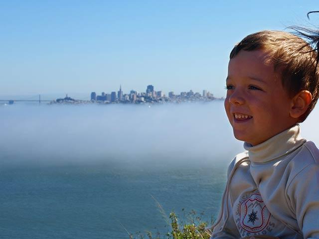 Voyage express avec un enfant à San Francisco