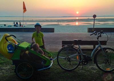 Coucher de soleil atlantique
