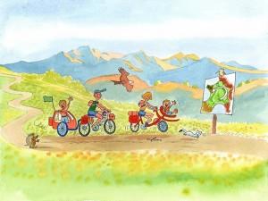 """""""A chacun son tour"""" part en vélo à votre rencontre"""