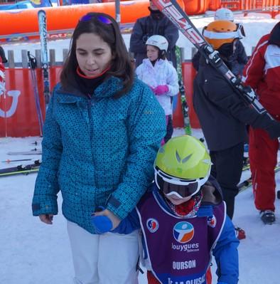 Marie Perarnau ski vacances