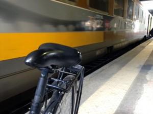 Voyager en train Intercité avec vélos et enfants (2/5)