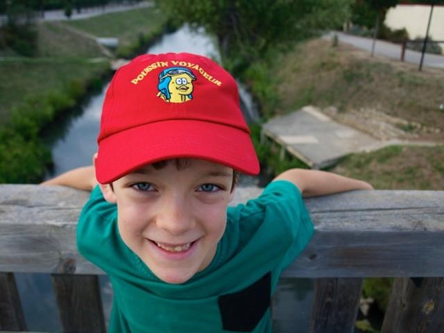 La casquette Poussin Voyageur est arrivée !