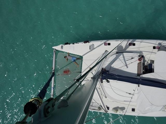 La vie de famille sur un bateau