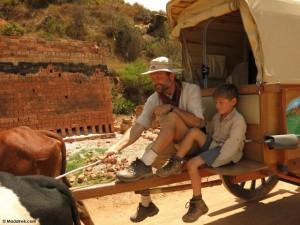 Faire le tour de Madagascar en famille… et en charrette à zébus