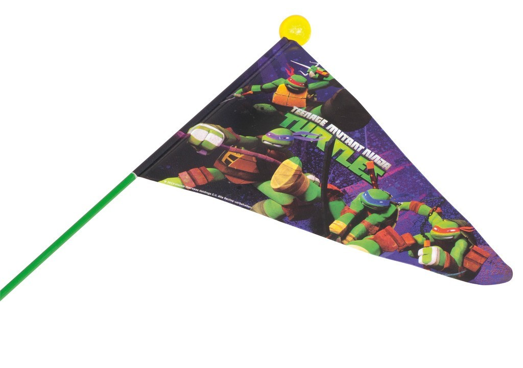 Fanion tortues ninja - Voiture des tortues ninja ...