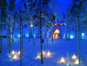 La Laponie : destination Noël