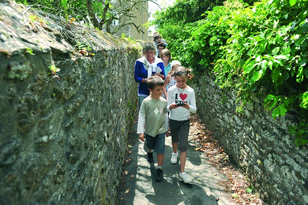 Géocaching en Haute Bretagne