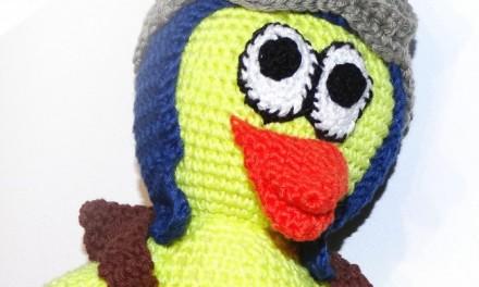 Poussin en laine – DIY – Sylvie d'Acryl-Art