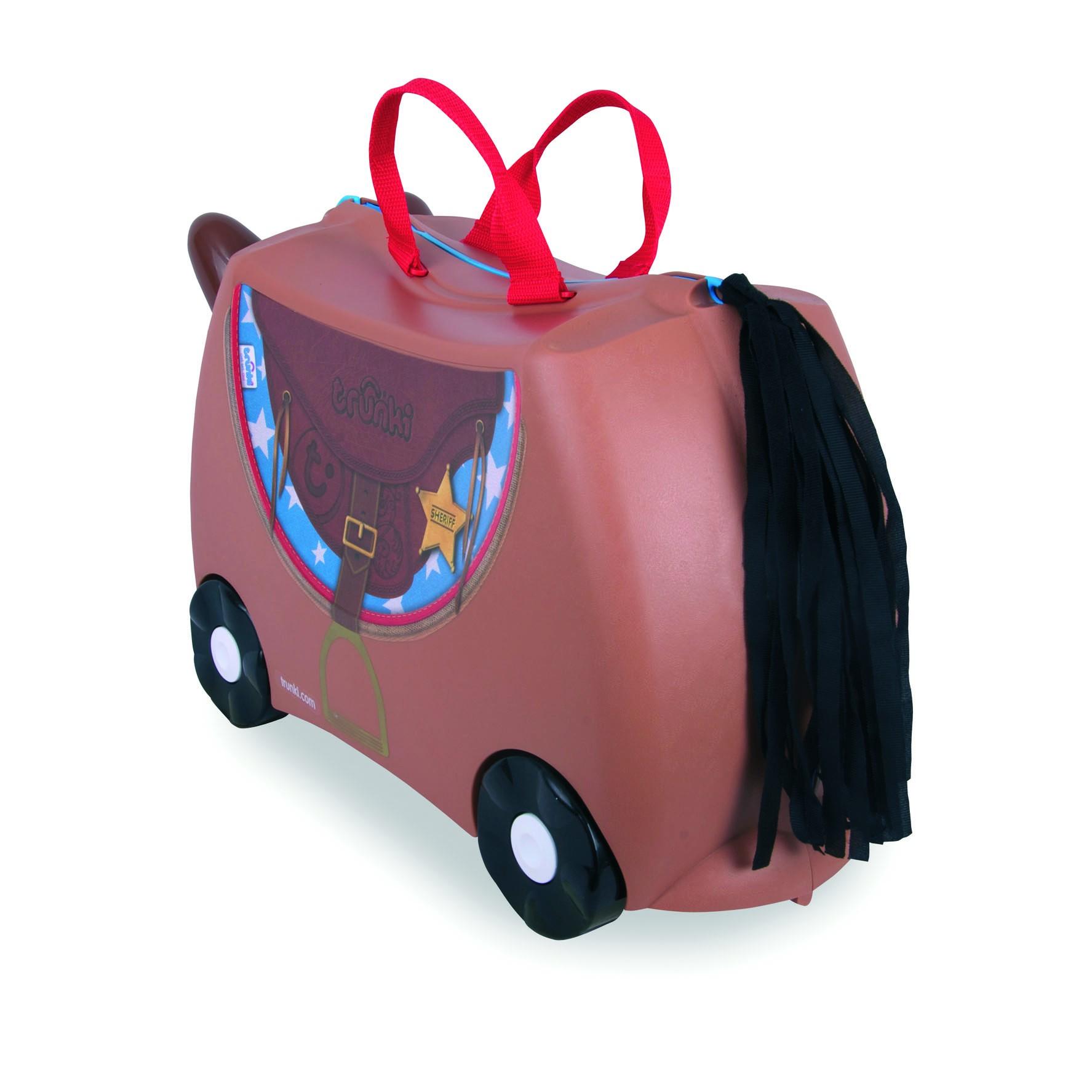 Valise Bronco le cheval du Shérif - Trunki