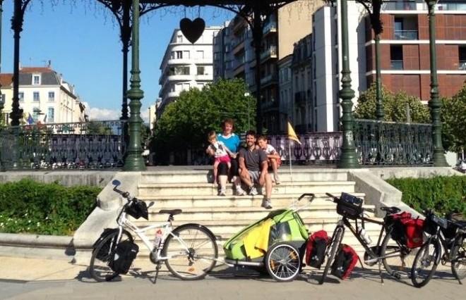 Tout pour voyager à vélo en famille