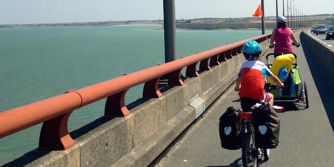 5 bonnes raisons de voyager à vélo avec les enfants