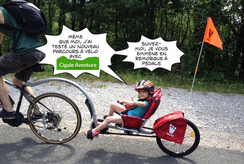 Le vélo électrique en famille avec Cigale Aventure