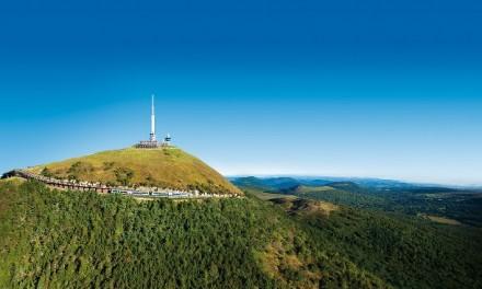 Le sommet du Puy de Dôme – 1 enfant