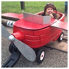 bebe-avion-remorque-toddler-baby-plane-trailer