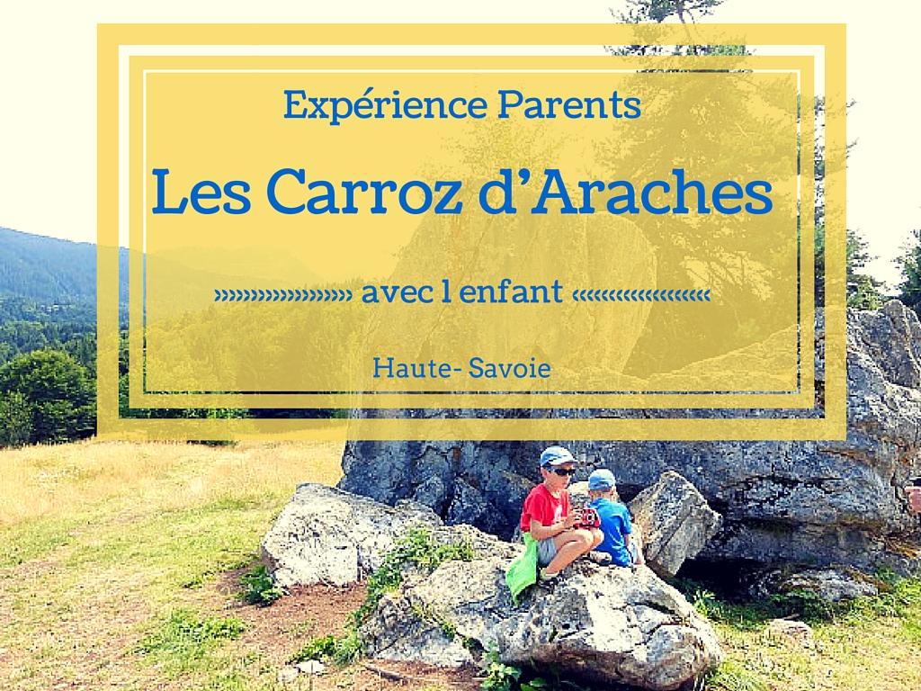 Les Carroz d'Araches – Haute-Savoie – avec 1 enfant