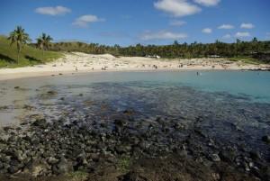 plage ile de paques vacances famille marjorie