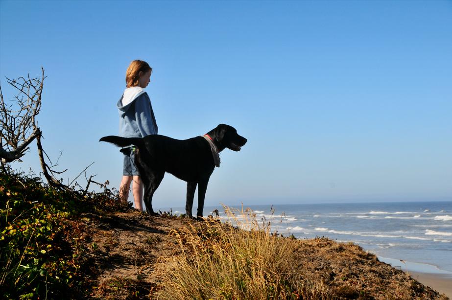 Voyager avec son chien et ses enfants