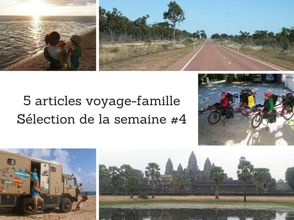 5 articles voyage famille – Sélection de la semaine #4