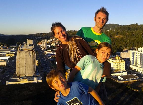 Tour des Ameriques en camping-car avec deux enfants