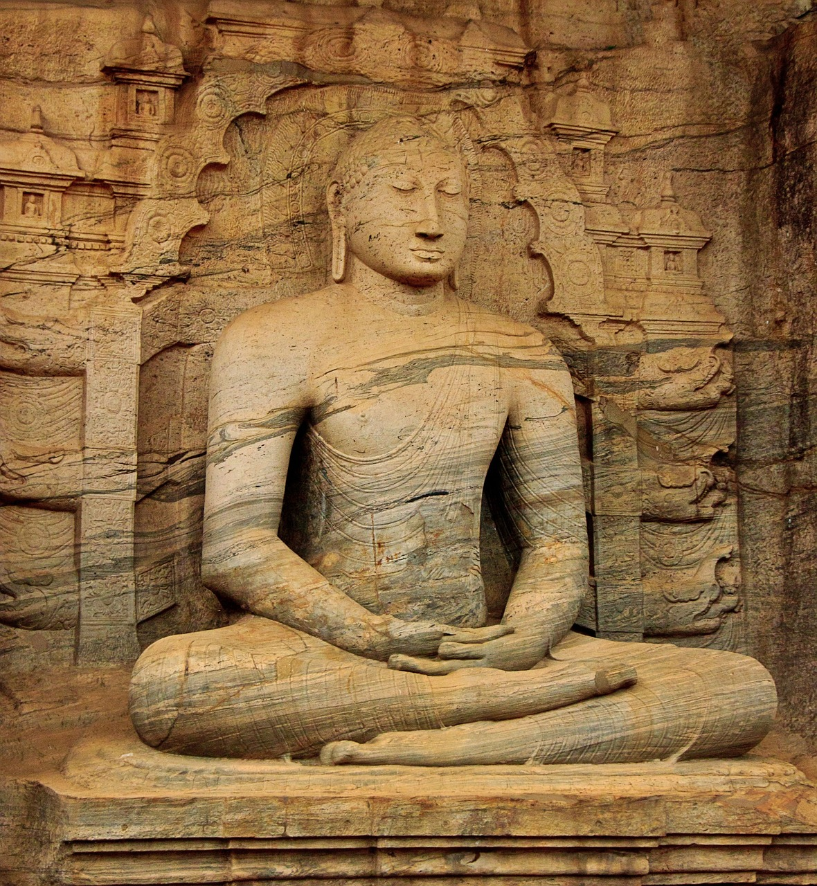Bouddha au Sri Lanka