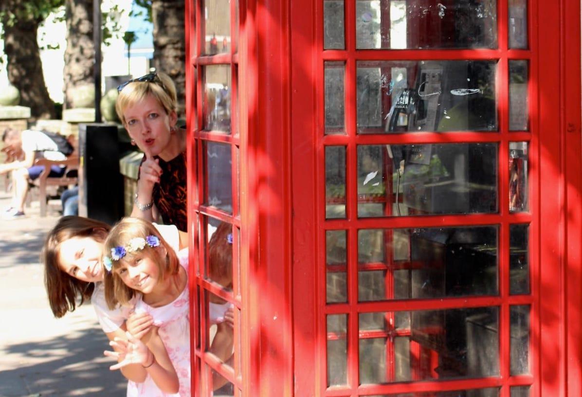 Week-end à Londres avec 2 enfants