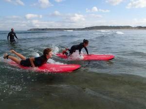 Surf en Espagne avec un enfant de 7 ans